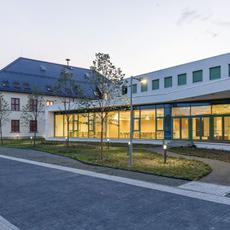 Apor Vilmos Katolikus Főiskola - Budapesti Campus (Fotó: Danyi Balázs - epiteszforum.hu)