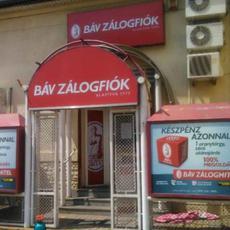 BÁV Zálogfiók - Pesterzsébet, Kossuth Lajos utca