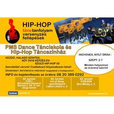 PMS Dance Tánciskola és Hip-Hop Táncszínház: tanfolyamok