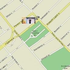 Iroda helye a térképen