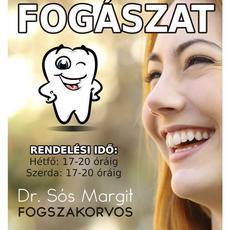 Csili Fogászat plakátja