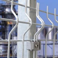 horganyzott kerítés