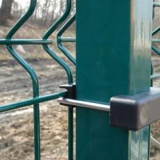 kerítés,kerítés tábla rögzítővel