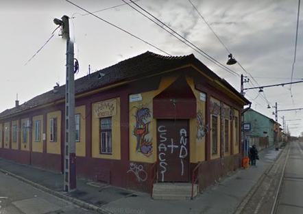 A bezárt Gyalogkakukk étterem (forrás: Google Maps)