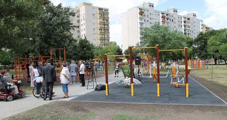 Csepelen van integrált sportpálya (fotó: ittlakunk.hu)