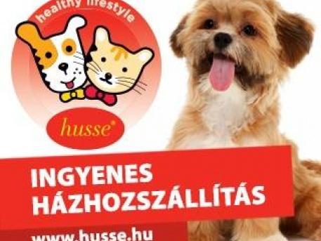 Husse kutya / cicatáp ingyenes házhozszállítással