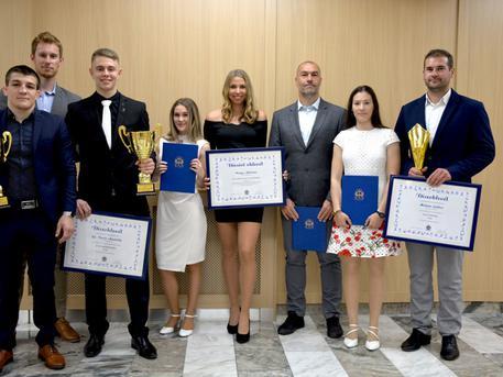 A díjazottak (fotó: Zsarnóczky Gyula - pesterzsebet.hu)
