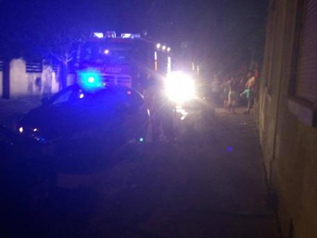 Tűzoltók és rendőrök is érkeztek (olvasói fotó)