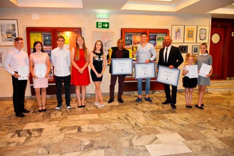 A díjazottak (fotó: Zsarnóczky Gyula)