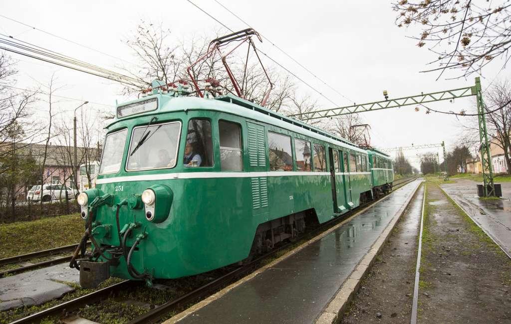 Az MVIII-as motorkocsi